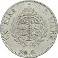 Кованица > 24kreuzer, 1824-1825 - Virtemberg  - reverse