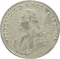 Кованица > 20крајцера, 1807-1810 - Virtemberg  - obverse