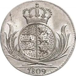 Кованица > 6крајцера, 1806-1814 - Virtemberg  - obverse