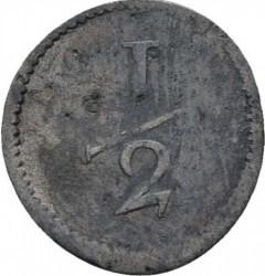 Moneda > ½kreuzer, 1812-1816 - Wurtemberg  - reverse