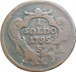 Монета > 1сольдо, 1792-1801 - Горіца і Градішка  - reverse