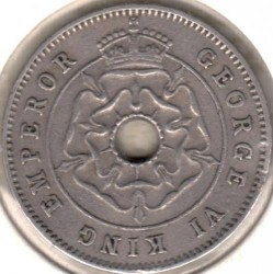 Coin > ½penny, 1938-1939 - Southern Rhodesia  - obverse
