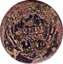Moneda > 2soldis, 1799-1802 - Gorizia y Gradisca  - reverse