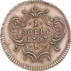 Monēta > 1soldo, 1760-1767 - Gorizia and Gradisca  - reverse