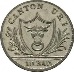Монета > 1батцен, 1811 - Кантони на Швейцария  - obverse