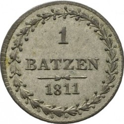 Монета > 1батцен, 1811 - Кантони на Швейцария  - reverse