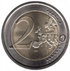 Monēta > 2eiro, 2010 - Somija  (150th Anniversary - Granting Finland the right to issue banknotes and coins) - obverse