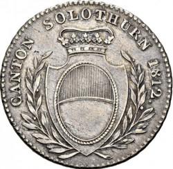 Кованица > 1франак, 1812 - Кантони Швајцарске  - obverse