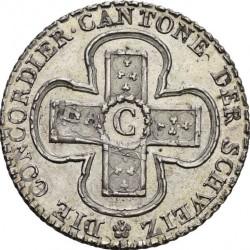 Кованица > 5batzen, 1826 - Кантони Швајцарске  (Denomination - 5 BATZ) - reverse