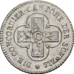 Кованица > 2½batzen, 1826 - Кантони Швајцарске  - reverse