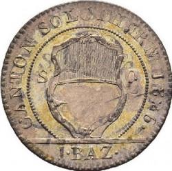 Moneta > 1batzen, 1826 - Kantony Szwajcarii  (Nominał - 1 BAZ) - obverse