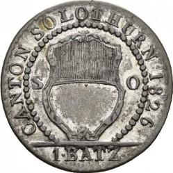 Moneta > 1batzen, 1826 - Kantony Szwajcarii  (Nominał - 1 BATZ) - obverse