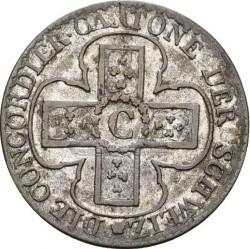Кованица > 1batzen, 1826 - Кантони Швајцарске  (Denomination - 1 BATZ) - reverse