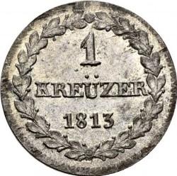 Кованица > 1крајцер, 1813 - Кантони Швајцарске  - reverse