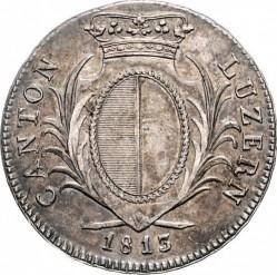 Монета > 4франка, 1813-1814 - Кантони на Швейцария  - obverse