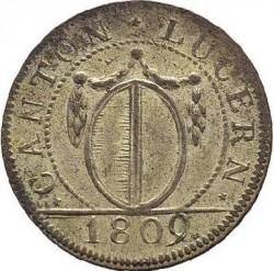 Монета > 1батцен, 1807-1811 - Кантони на Швейцария  - obverse