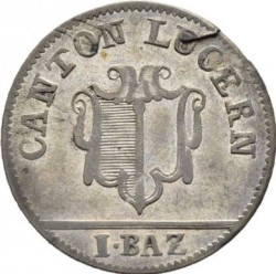 Монета > 1батцен, 1803 - Кантони на Швейцария  - obverse