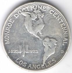 Moneta > ½dollara, 1923 - USA  (100 rocznica - Doktryna Monroe'a) - reverse