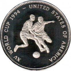 Moneda > 2000kwacha, 1994 - Zambia  (1994 FIFA World Cup /two soccer players/) - reverse