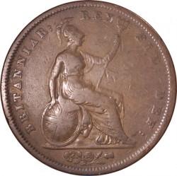 Moeda > 1pence, 1825-1827 - Reino Unido  - reverse
