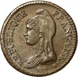 Münze > 1Décime, 1795-1800 - Frankreich  - obverse