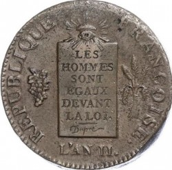 Moneta > 2 soles, 1793 - Francia  (Data: 1793) - obverse