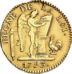 Moneta > 24livre, 1793 - Francia  - obverse
