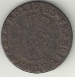 Pièce > 1liard, 1777-1792 - France  - reverse
