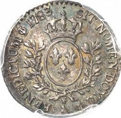 錢幣 > 6索爾, 1782-1783 - 法國  - reverse