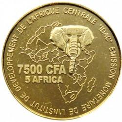 Moneda > 7500francos, 2006 - Camerún  (Boda) - obverse