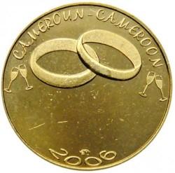 Moneda > 7500francos, 2006 - Camerún  (Boda) - reverse