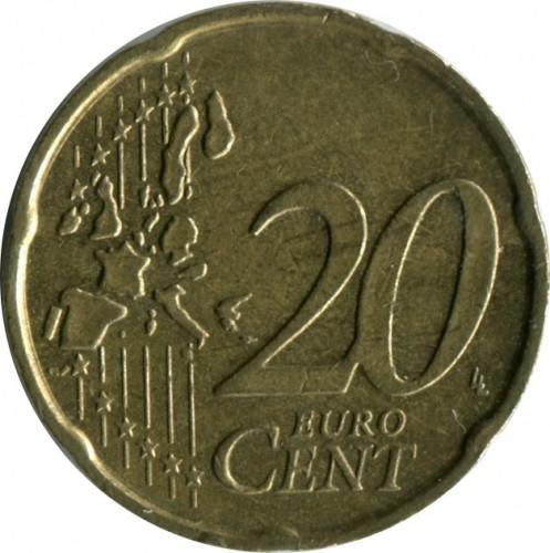 20 Eurocent 2002 2007 Italien Münzen Wert Ucoinnet