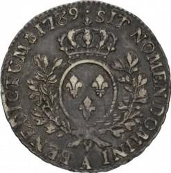 Moneta > ½Ecu, 1774-1792 - Francia  - reverse