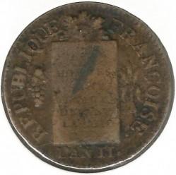 Moneta > 1sol, 1793 - Francia  (Data: 1793) - obverse