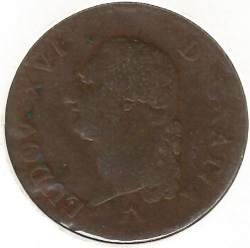 Moneta > 1sol, 1777-1791 - Francja  - reverse