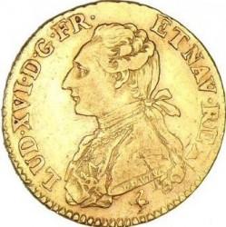 錢幣 > 1多爾, 1774 - 法國  (Single coat of arms on reverse) - obverse