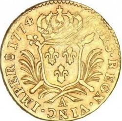 錢幣 > 1多爾, 1774 - 法國  (Single coat of arms on reverse) - reverse