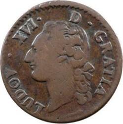 Moneta > ½sol, 1777-1791 - Francia  - obverse