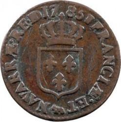 Moneta > ½sol, 1777-1791 - Francia  - reverse