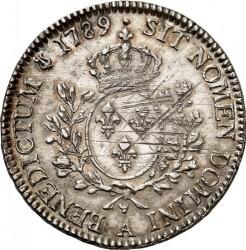 Moneta > 1ECU, 1774-1792 - Francia  - reverse