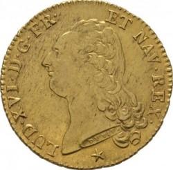 Moneta > 2d'Or, 1785-1792 - Francia  - obverse