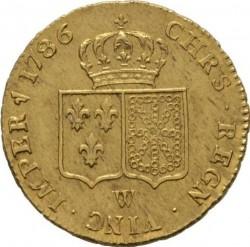 Moneta > 2d'Or, 1785-1792 - Francia  - reverse