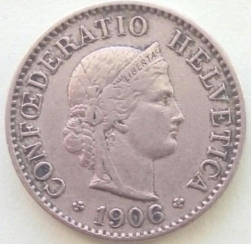 5 rappen 1906, Switzerland - Coin value - uCoin net