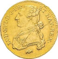 錢幣 > 2多爾, 1775-1785 - 法國  - obverse