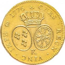 錢幣 > 2多爾, 1775-1785 - 法國  - reverse