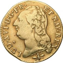 Moneta > 1d'Or, 1785-1792 - Francia  - obverse