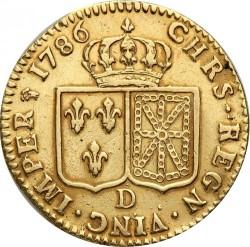 Moneta > 1d'Or, 1785-1792 - Francia  - reverse