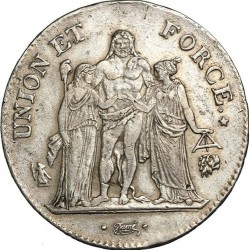 Münze > 5Franken, 1795-1802 - Frankreich  - obverse