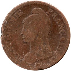 سکه > 1decime, 1795-1800 - فرانسه  - reverse