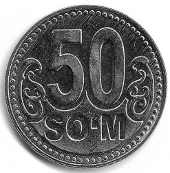 Coin > 50so'm, 2018 - Uzbekistan  - obverse
